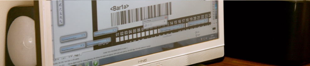 Barcodes and Serial Numbers